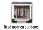 read more on our doors
