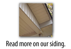 read more on our siding