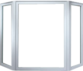 Bay and bow window frame